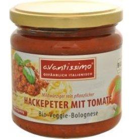 avantissimo Bio-Veggie-Bolognese Hackepeter mit Tomate