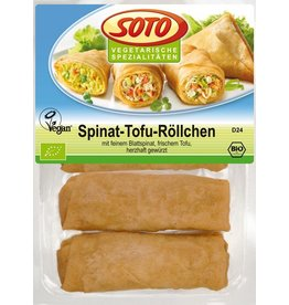 Soto Spinat-Tofu Röllchen