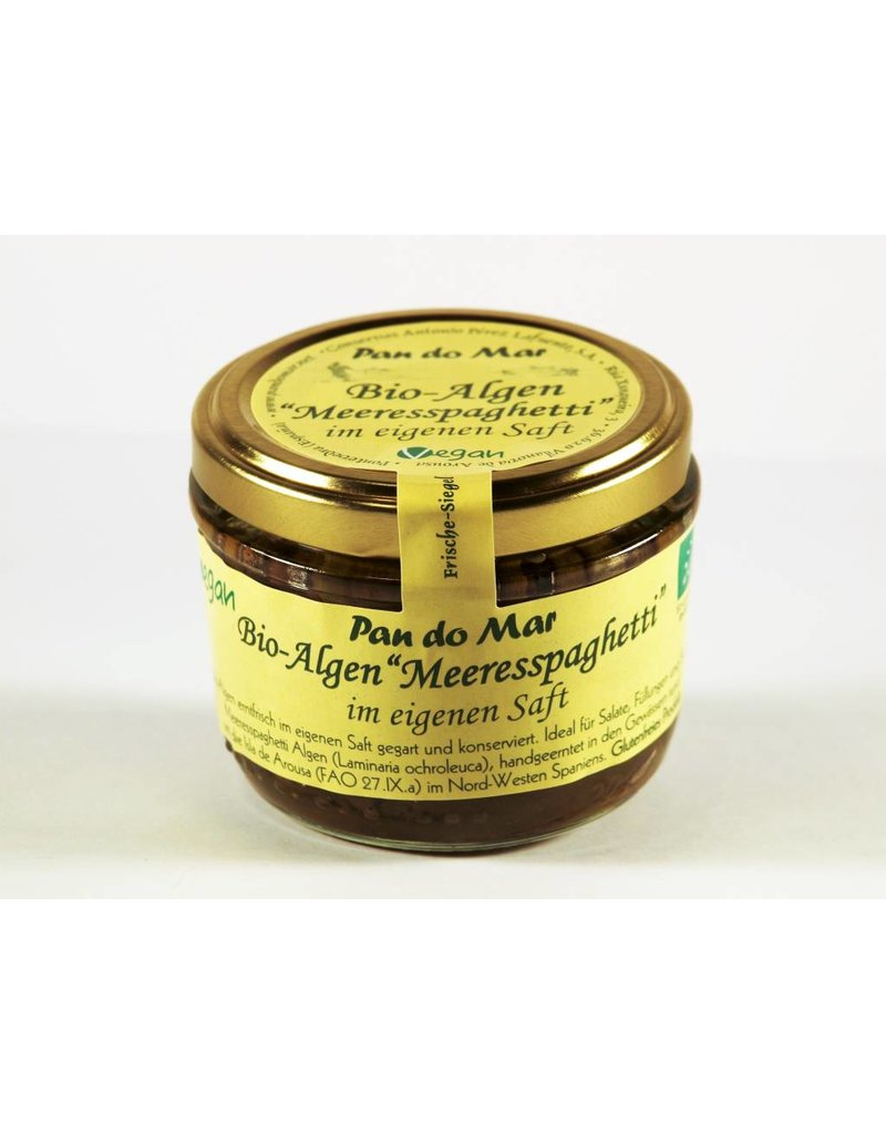 "Pan do Mar Algen ""Meeresspaghetti"" im eigenen Saft"