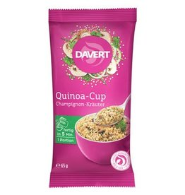 Davert Quinoa Cup Champignon Kräuter
