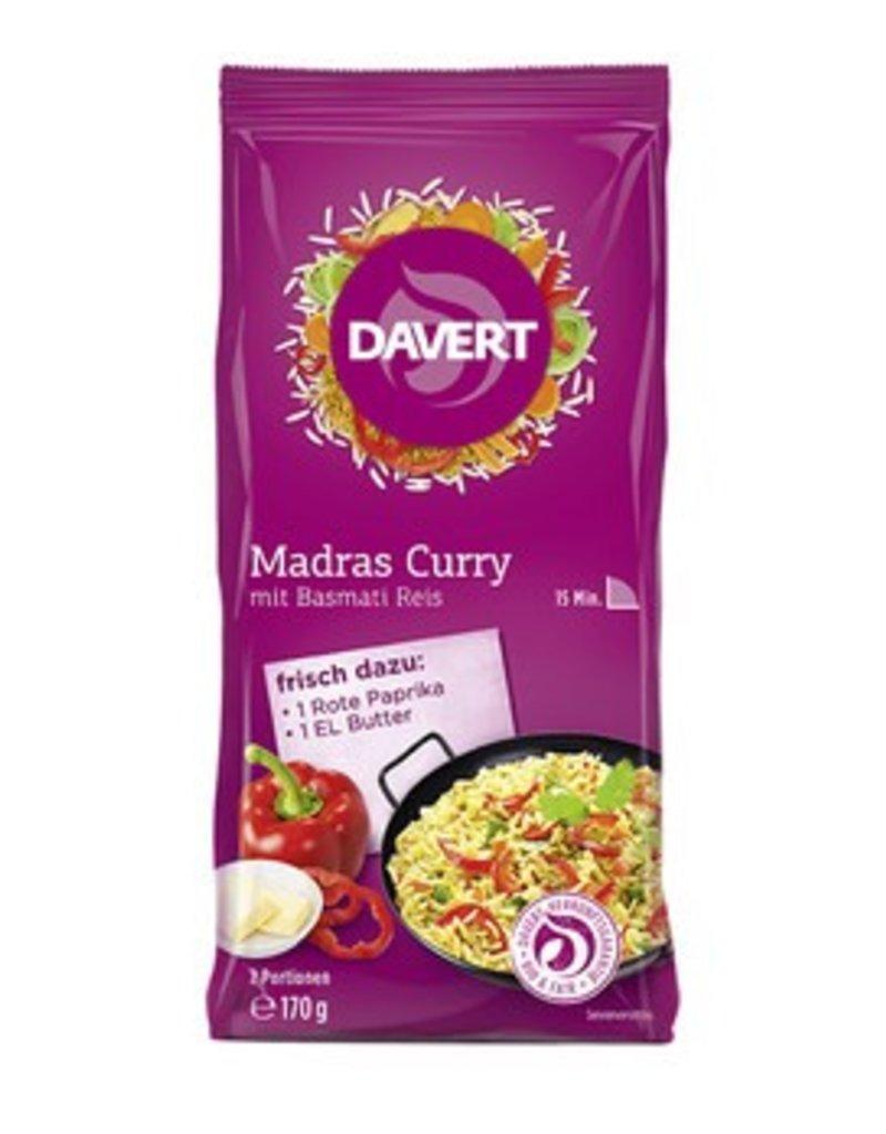 Davert Madras Curry Pfanne Bio