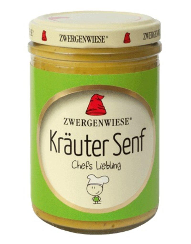 Zwergenwiese Kräutersenf bio - Chefs Liebling