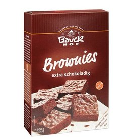 Bauckhof Brownies Backmischung - glutenfrei