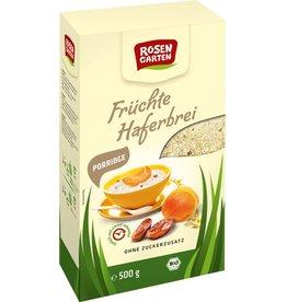 Rosengarten Porridge-Früchte-Haferbrei