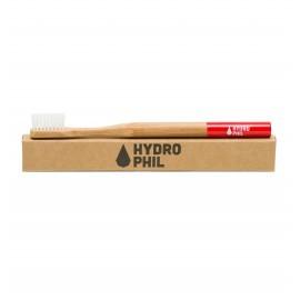 Hydrophil Bambus Zahnbürste rot - mittel