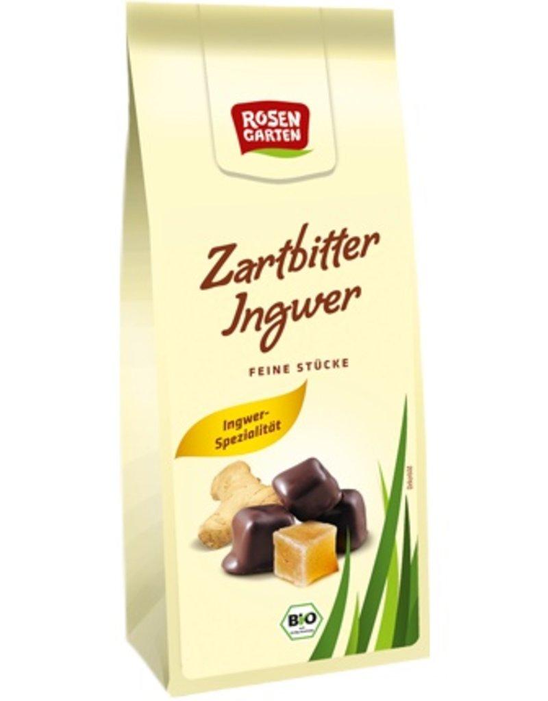 Rosengarten Ingwerstückchen in Zartbitterschokolade