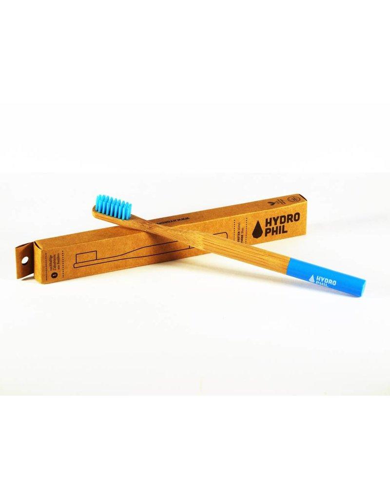 Hydrophil Bambus Zahnbürste blau - MITTELWEICH