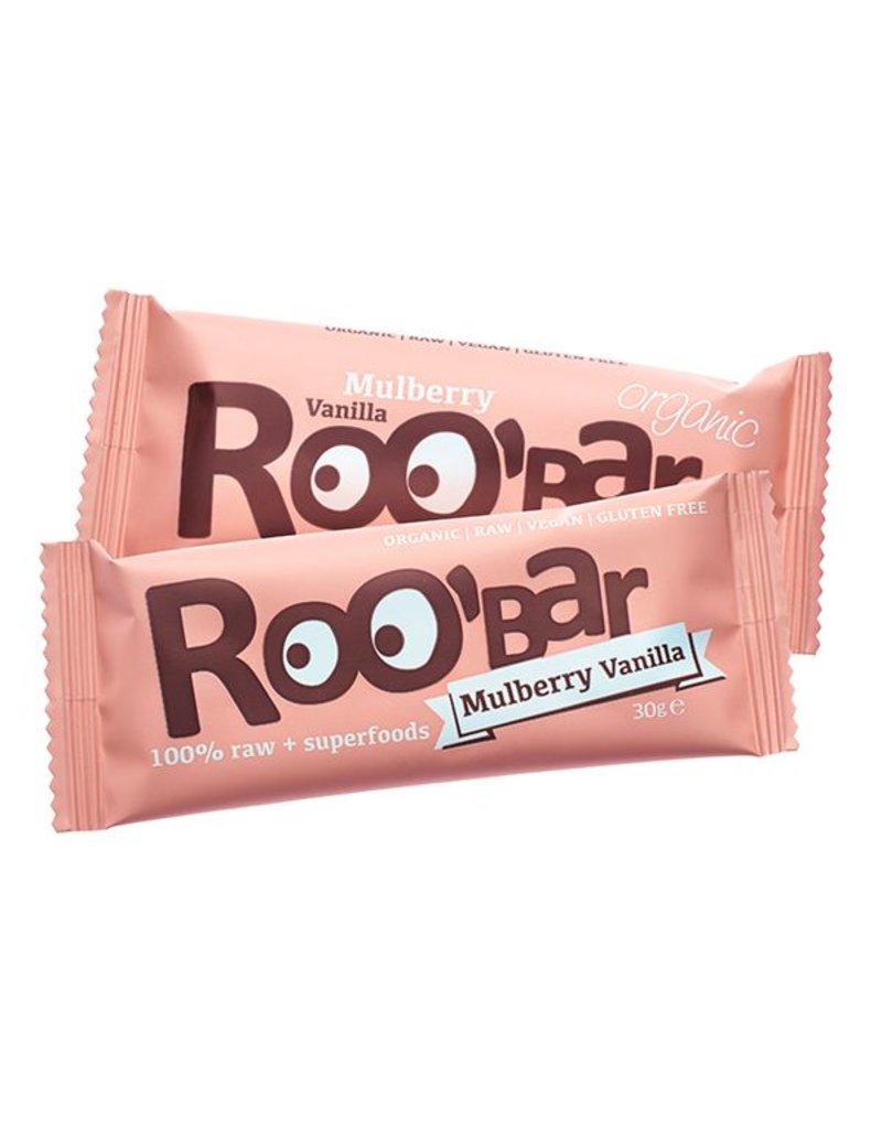 Roo´bar Mulberry & Vanilla Riegel