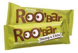 Roo´bar Hemp Protein & Chia Riegel