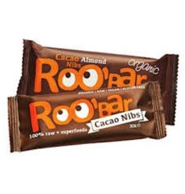 Roo´bar Cacao Nibs & Almonds Riegel