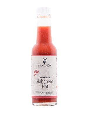 Sanchon Hot Habanero Sauce
