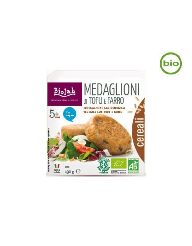 Biolab Medaglioni di Tofu e Farrot