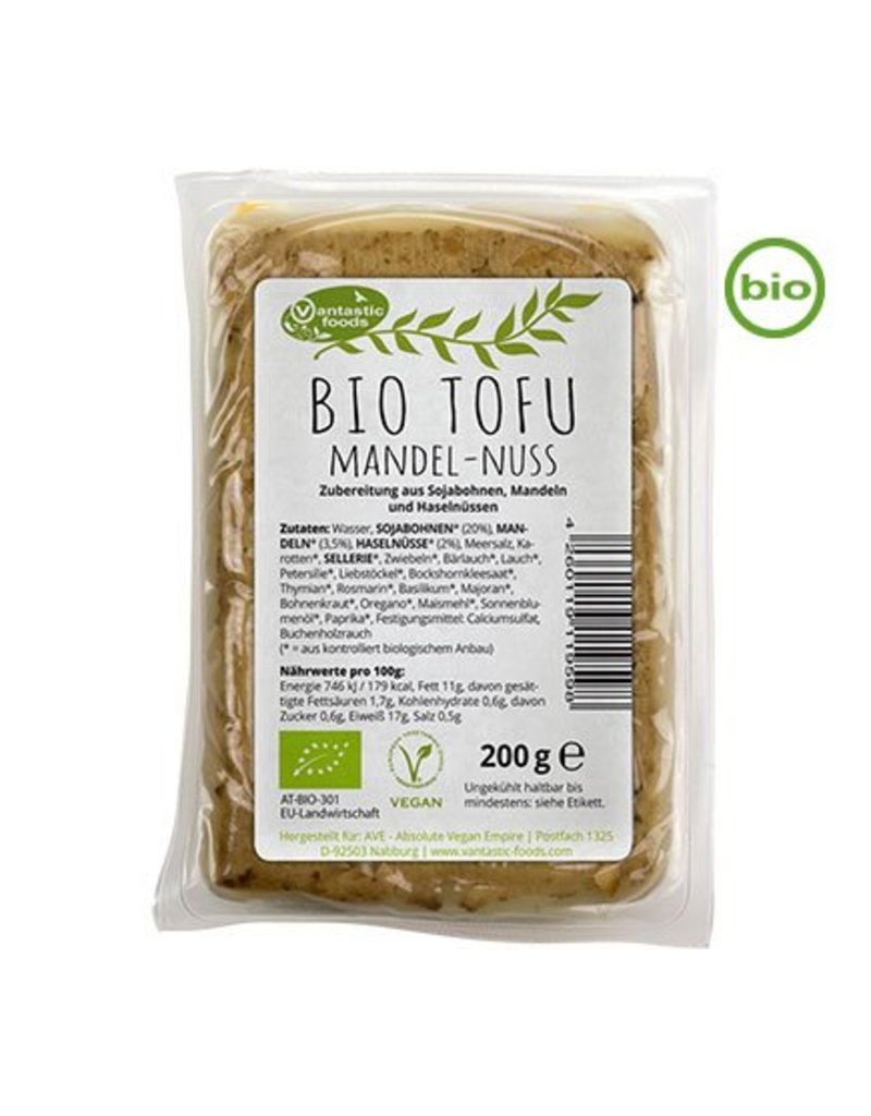 Vantastic Foods Tofu Mandel-Nuss