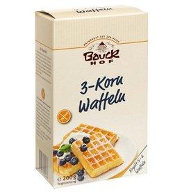 Bauckhof 3-Korn Waffeln glutenfrei