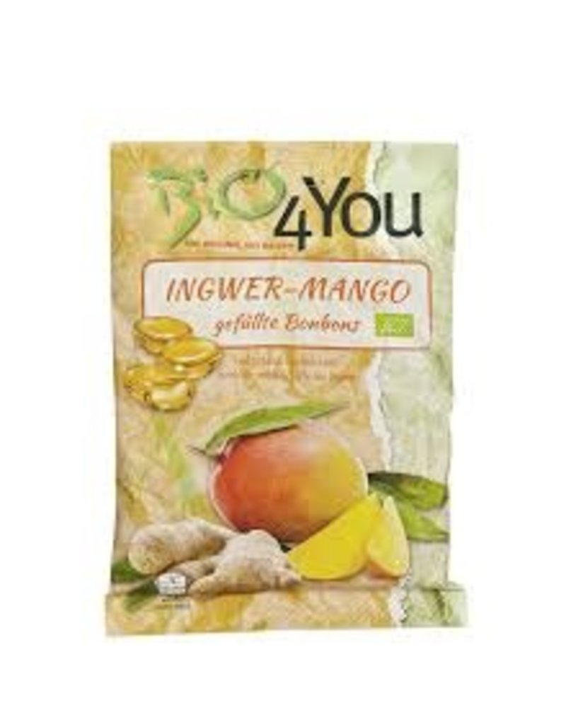 Bio4You Ingwer-Mango gefüllte Bonbons