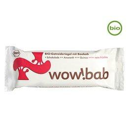 wow!bab Bio-Getreideriegel mit Baobab rote Früchte