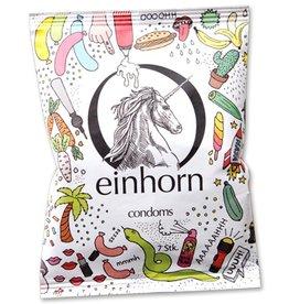 Einhorn Kondome in Chipstüte 7 Stück Uuuh! Penisgegenstände