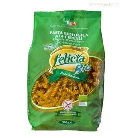 Felicia Bio 4-Korn Fusilli glutenfrei