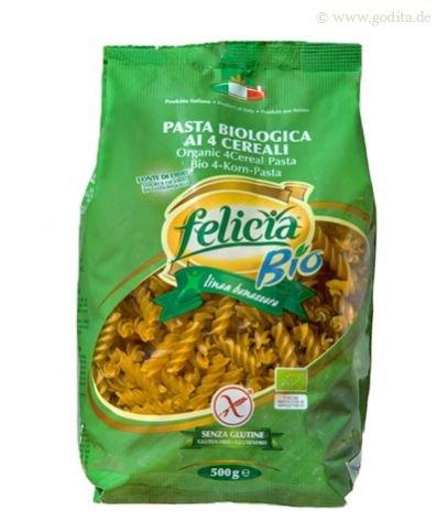 Felicia Bio 4-Korn Fusilli - glutenfrei