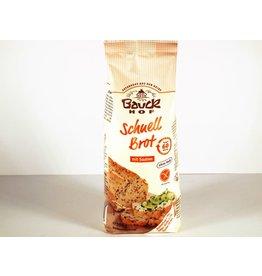 Bauckhof Schnellbrot mit Saaten - glutenfrei