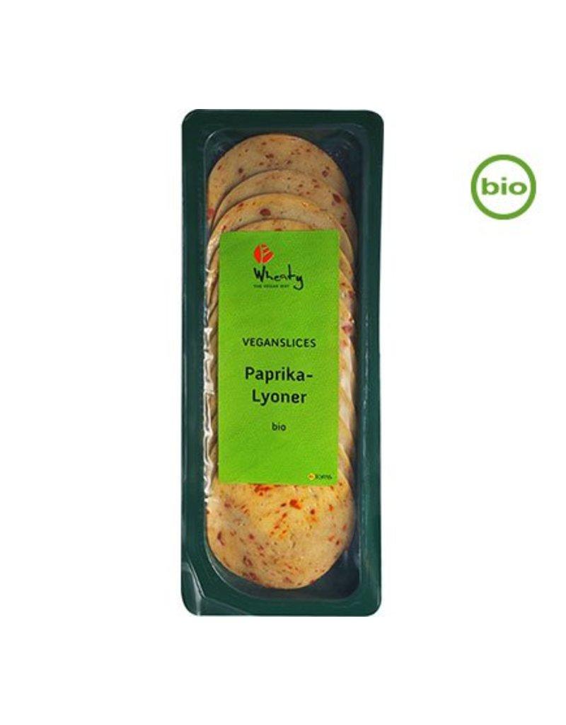 Wheaty Veganslices Paprika-Lyoner
