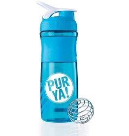 PurYa! Shaker aqua/white