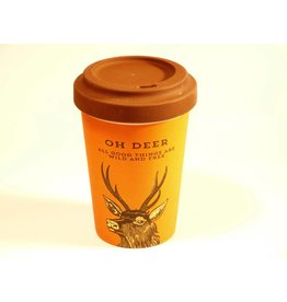 "BambooCup Bamboo Cup ""oh deer"""