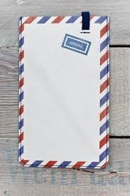 Paprcuts Smartphone Cover Airmail (big) von Paprcuts