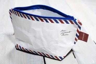 Paprcuts Kosmetiktasche Airmail von Paprcuts