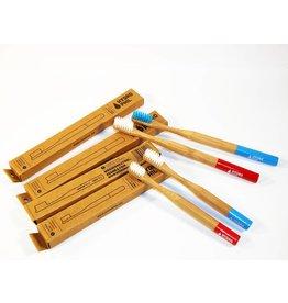 Hydrophil Bambus Zahnbürsten Set Family