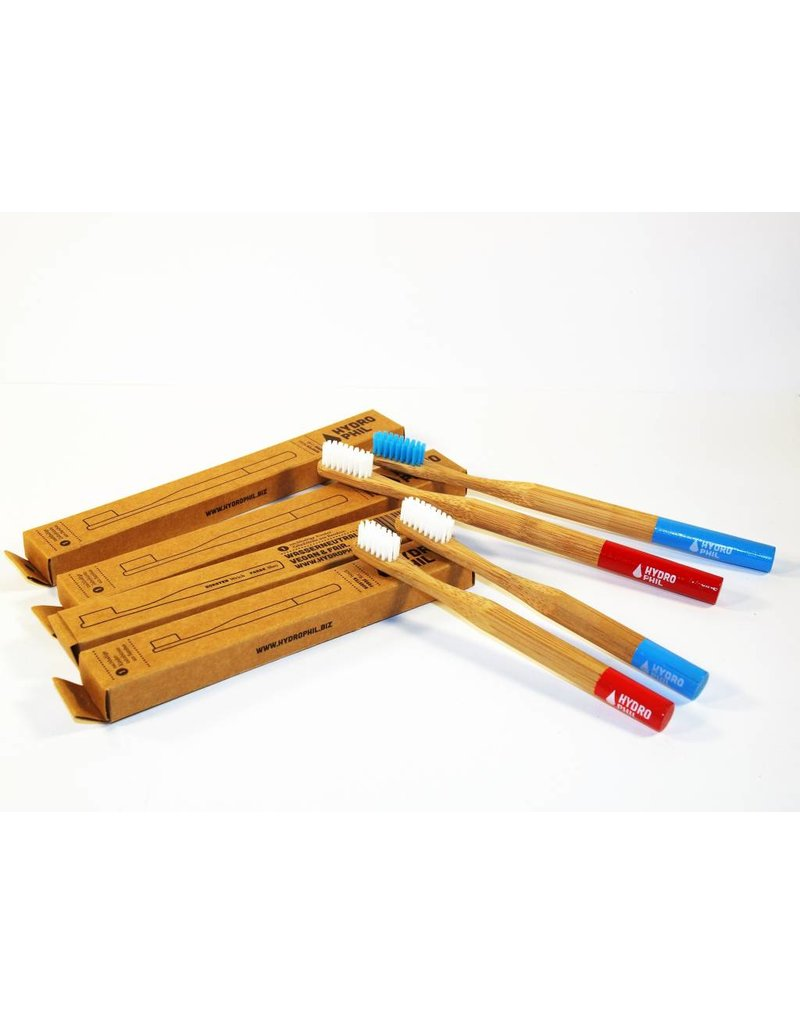 Hydrophil Bambus Zahnbürste Set Family