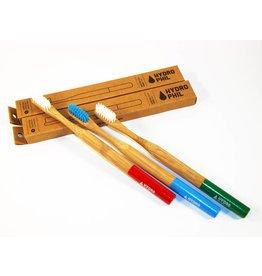 Hydrophil Bambus Zahnbürsten Sparset