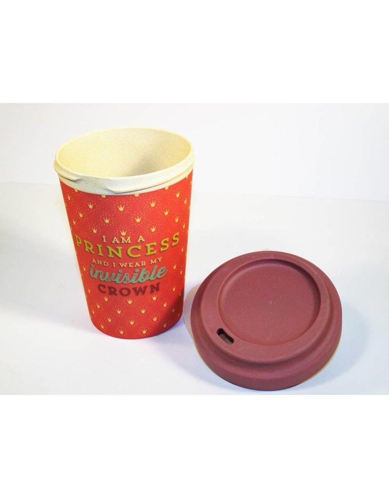 "BambooCup Bamboo-Cup ""Princess"" wiederverwendbarer Coffee-to-go Becher"