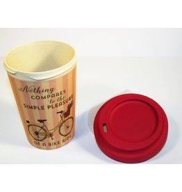 "BambooCup Bamboo Cup ""Bike Pleasure"""