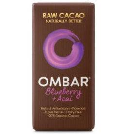 OMBAR Roh-Schokolade Acai & Blaubeere