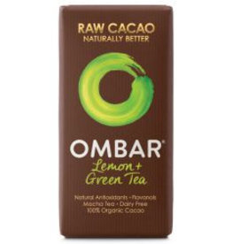 OMBAR Roh-Schokolade Grüntee & Lemon