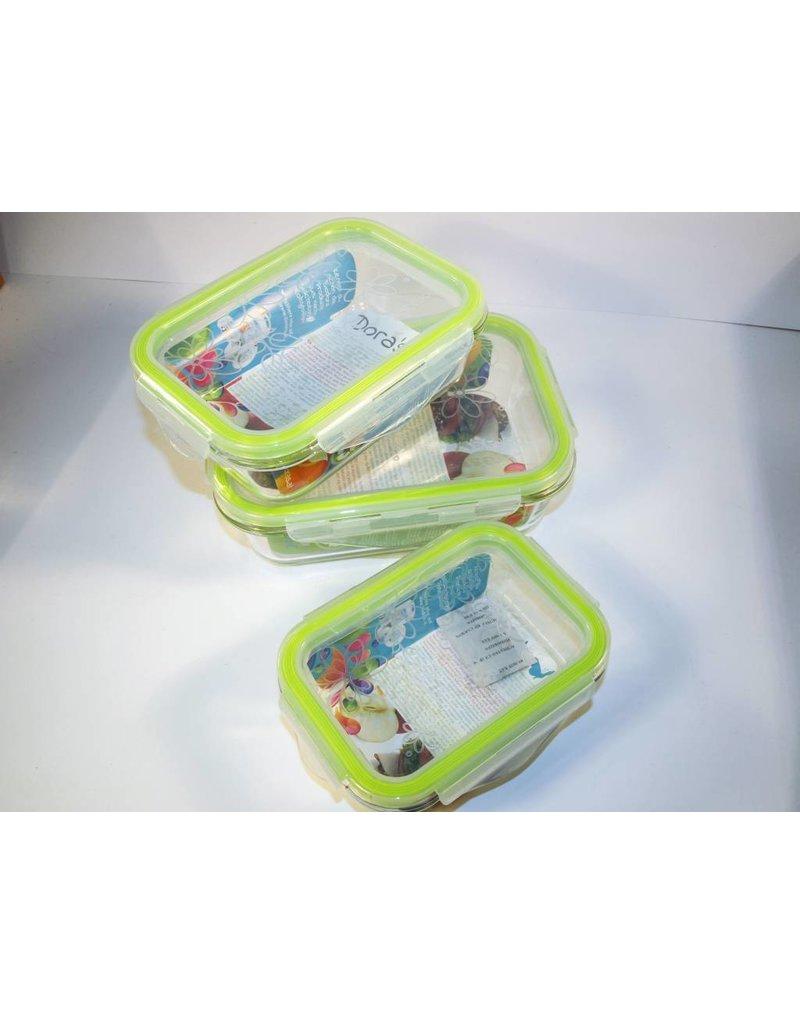 Biodora Aufbewahrungsbox aus Glas