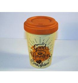 "BambooCup Bamboo-Cup ""Good morning sunshine"""