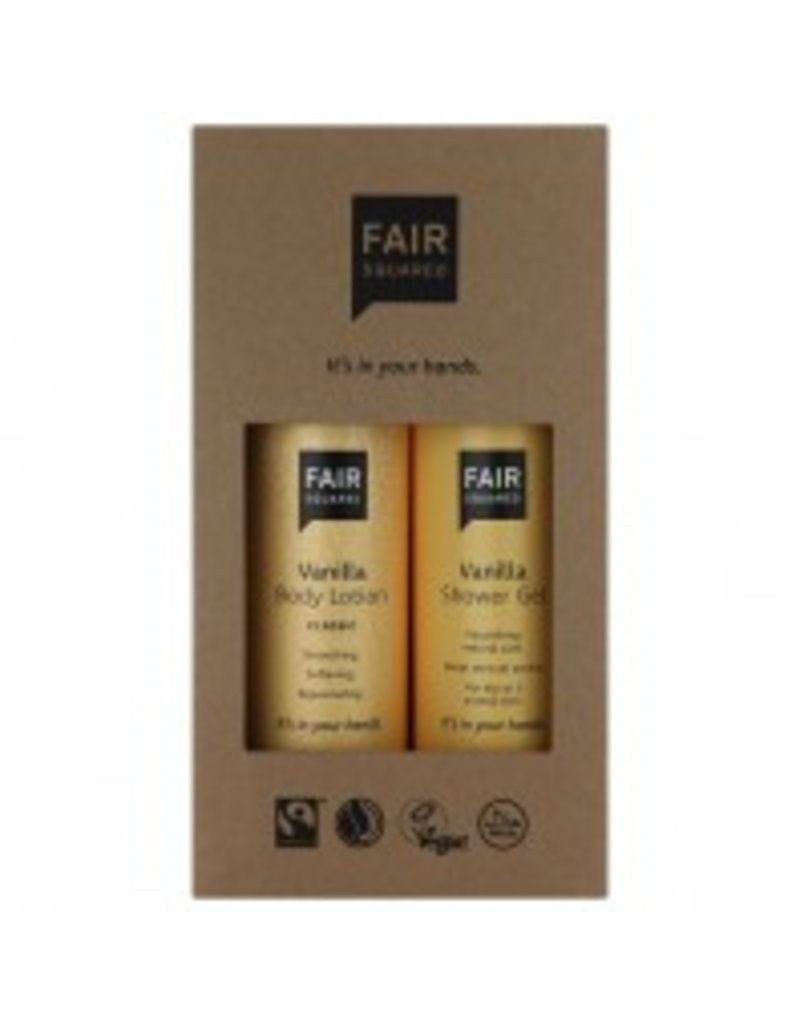 fair squared Beauty Box Vanilla - Geschenkbox
