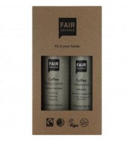 fair squared Beauty Box Coffee - for men - fair trade