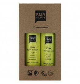 fair squared Beauty Box Lime - vegan - Bio- fair trade & halal