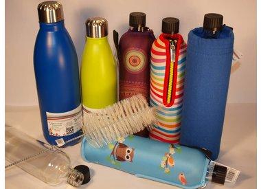 Shaker, Thermos- und Trinkflaschen