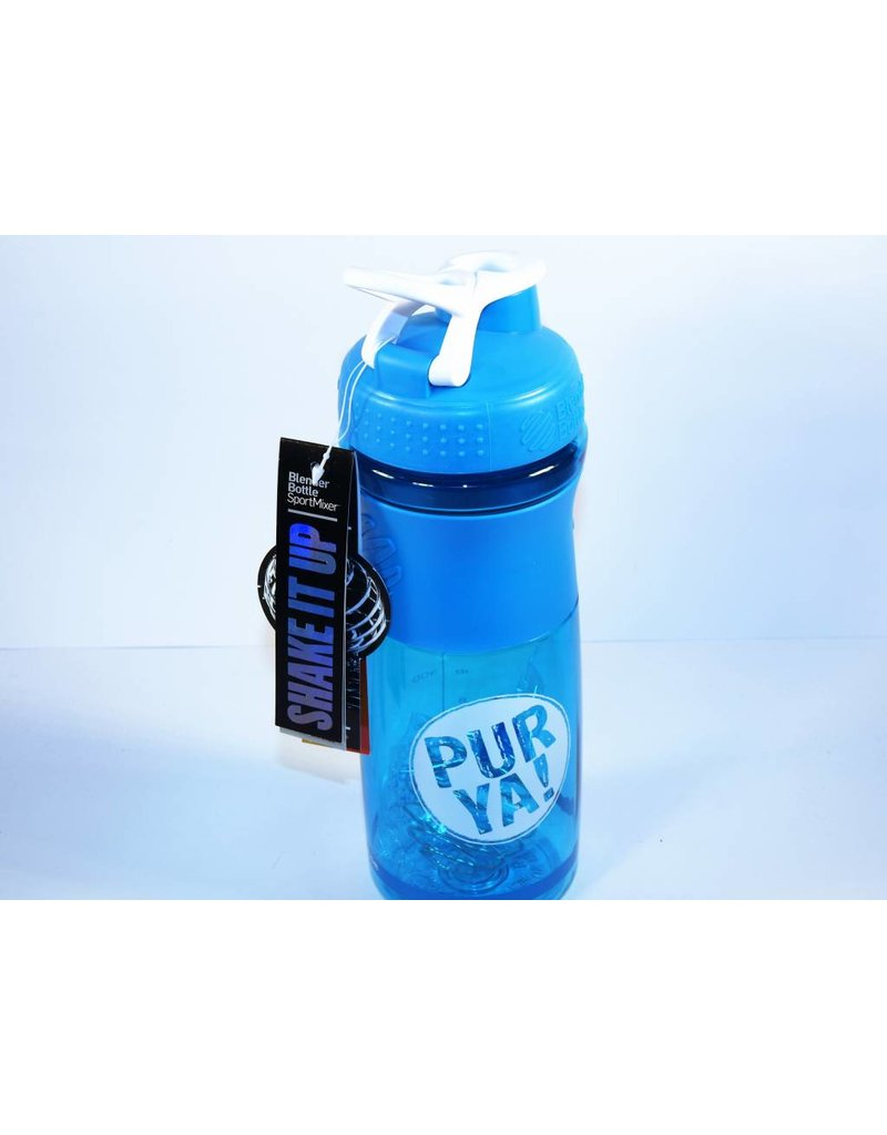 PurYa! Veganer Protein Drink - Cacao-Carob BIO -Doppelpack + Shaker
