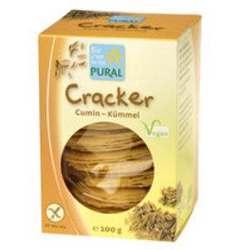 Pural Cracker (Cumin) Kümmel glutenfrei
