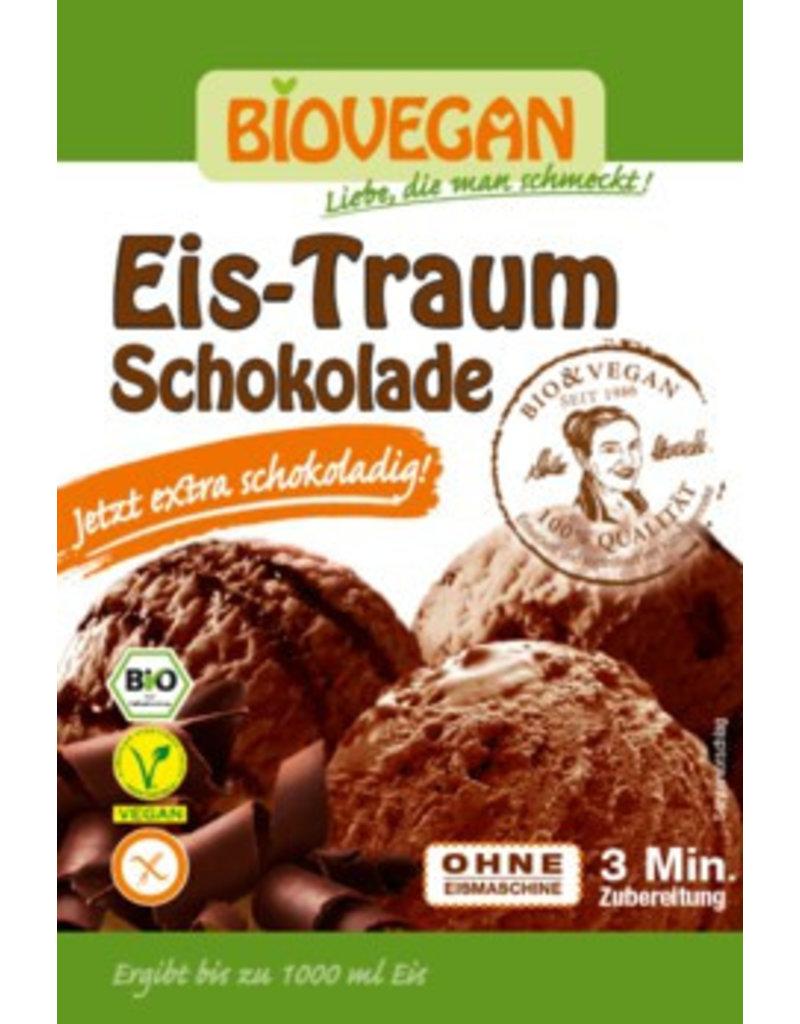 Biovegan Eis-Traum Schokolade - jetzt noch schokoladiger - glutenfrei