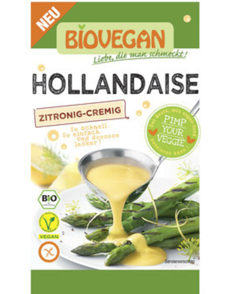 Biovegan Hollandaise - glutenfrei