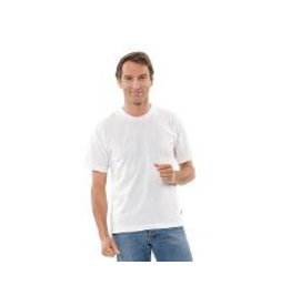 Memo T-Shirt weiß Gr. L vegan Biobaumwolle