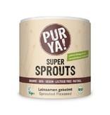 PurYa! Super Sprouts Leinsamen gekeimt