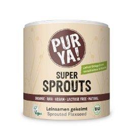 PurYa! Super Sprouts - Leinsamen gekeimt