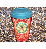 "BambooCup Bamboo-Cup ""Original Hipster"" wiederverwendbarer Coffee-to-go Becher"